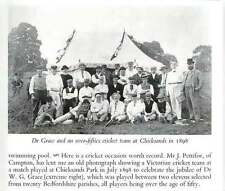 1959 Old Parish Cricket Players Celebrate Jubilee Wg Grace