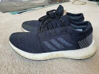 Adidas PureBOOST GO Women's Running Shoes Core Black Grey B75665 Size 8.5