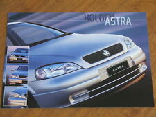 1999 Holden Astra City and CD original Australian 20 page brochure