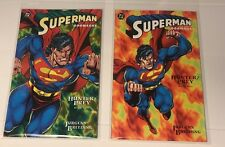 (COMIC BOOKS) LOT OF 2 SUPERMAN DOOMSDAY HUNTER/PREY #1 & #2