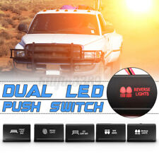 Dual LED Push Switch Driving Spot Reverse Light Lamp Bar For Amarok VW Up to 16
