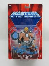 MOTU,200X,ICE ARMOR HE-MAN,Masters of the Universe,MOC,carded,Sealed,He Man