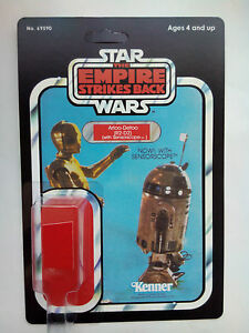 1981 R2D2 SENSORSCOPE ON EMPIRE 47 BACK HOME YOUR TREASURED VINTAGE ACTION TOY