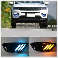 For Jeep Compass 2017-19 LED DRL Daytime Running Light/Front Fog Lights 2PCS DN