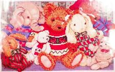 Janlynn Sweater Buddies Counted Cross Stitch Embroidery Kit Teddy Bears 08-131