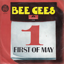 """BEE GEES-FIRST OF MAY-RARE ORIGINAL YUGOSLAV PS 45rpm 7"""" 1969-UNIQUE RTB LABEL"""