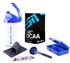 49,58€/kg - ESN Nitro BCAA Powder 500g Beutel Pulver + Bonus Aminosäuren Sport