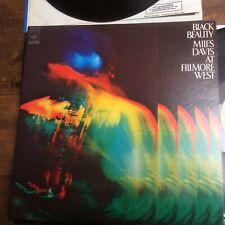 RARE 1973 vinyl LP BLACK BEAUTY Miles Davis AT FILMORE WEST  SOPJ 39A1 /B3.  NM+