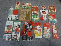 Lot of Vintage Valentine's Cards