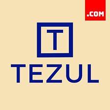 TEZUL.COM - 5 Letter Domain - Short Domain Name - Catchy Name .COM Dynadot