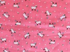 Quilt Cotton Fabric Sheep Pink Cranston Print Works,Company  BTHY