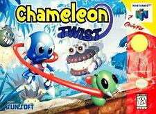 CHAMELEON TWIST *RARE* NINTENDO 64 GAME *NEW* AUS EXPRESS