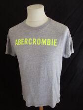 T-shirt Abercrombie & Fitch Gris Taille M à - 50%