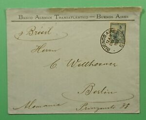 DR WHO 1900 ARGENTINA BUENOS AIRES TO GERMANY C244568