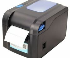 Thermal Barcode Label Printer Black And White Style Manual Commercial Used Tools