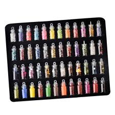 Fashion Nail Art Glitter Powder for Phone Craft Decoration Tool Set 48 Color