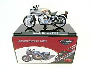 Atlas Editions Classic Motorbike - Suzuki Katana 1982 - 1:24 scale