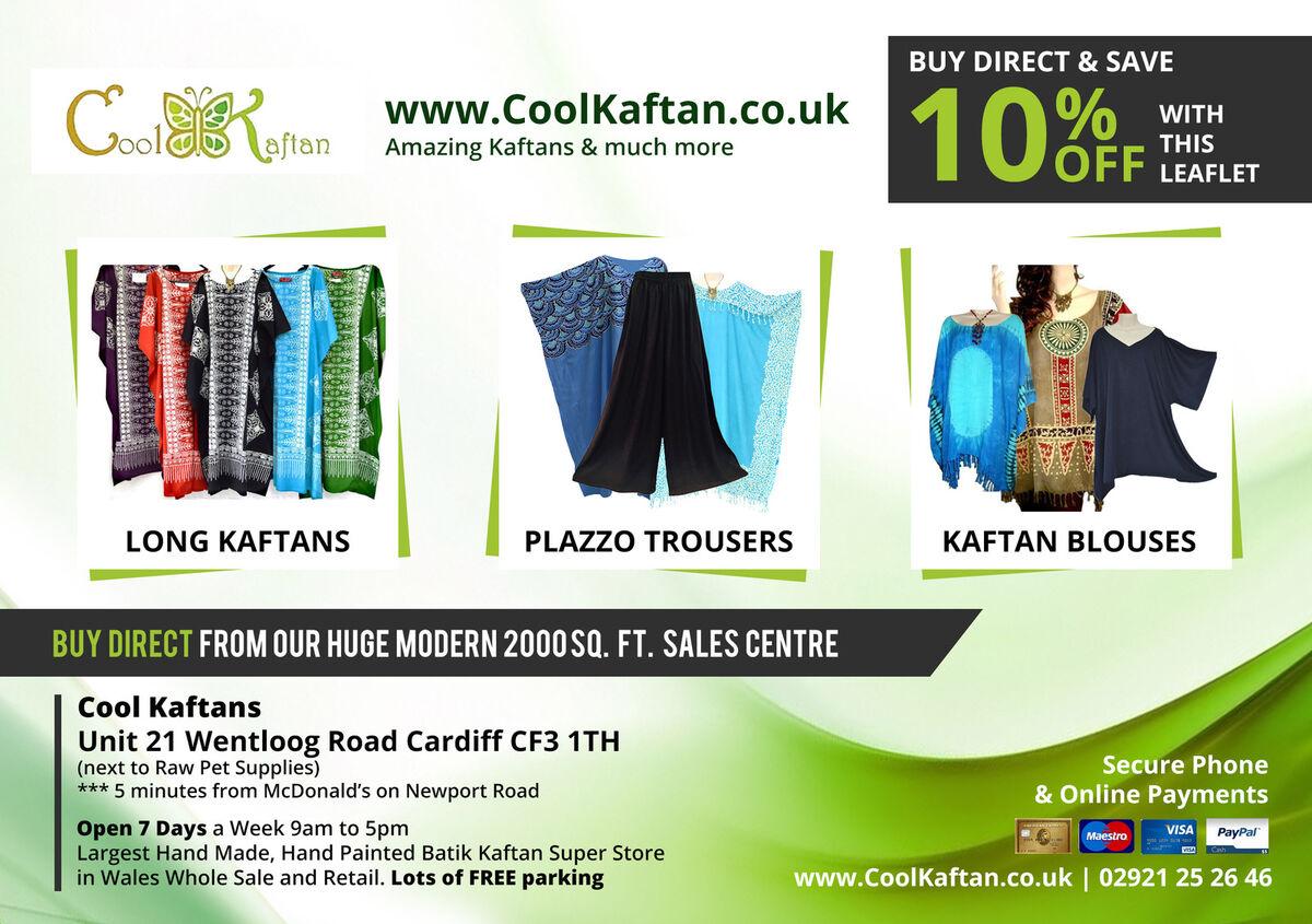 Cool Kaftan Clothes