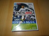 Pro Evolution Soccer 2012 (Wii)  NEW SEALED  pal