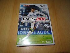 Pro Evolution Soccer 2012 (Wii)  NEW SEALED  pal