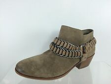 Sam Edelman Women's Beige/stone Suede/leather Ankle Boots 7 M