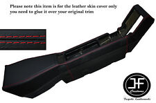 RED STITCHING CENTER CONSOLE LEATHER SKIN COVER FITS RENAULT ALPINE GTA V6