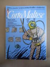 CORTO MALTESE n°12 1988  Hugo Pratt con inserto Superman Watchmen   [G873]