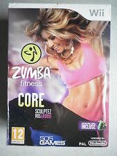 Zumba Fitness Core + ceinture Jeu Vidéo Nintendo Wii