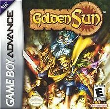 Golden Sun Nintendo Game Boy Advance Video Games