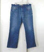 LEVIS 517 jeans bootcut denim cotton casual medium blue mens W36 L29 36 X 29