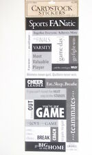 La carta da studio Cartoncino Adesivi-Sport