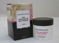 bareMinerals Pure Transformation Night Treatment - Clear * 4.2g / 0.15 oz ~ New