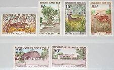 Upper Volta obervolta 1962 102-07 97-02 caza haunting Tourism animals fauna mnh
