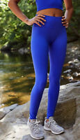 NEW Free People Movement Seamless Contour Yoga Legging in Blue XS/S-M/L $109.12