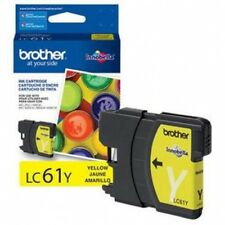 NEW Brother LC61Y LC61 Yellow Ink Cartridge Genuine!
