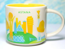 + STARBUCKS City Mug + ASTANA + YOU ARE HERE YAH + NEU SKU + Tasse + Kazakhstan