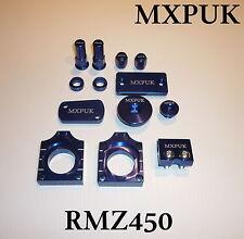 RMZ450 2009 BLING KIT ALLOY ANODIZED PARTS PACK IN BLUE 2008 RMZ450 RMZ (637)