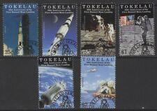 TOKELAU ISLANDS SG295/300 1999 MOON LANDING FINE USED