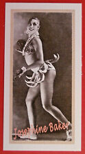 JOSEPHINE BAKER - Individual card #02 - Tribute Collectables