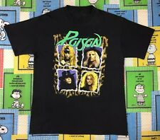 Vintage 1990 Poison Flesh & Blood World Tour T Shirt 90S Retro Glam Rock Metal