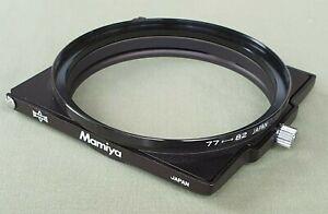E50250 Mamiya RB67 Gelatin Filter Holder & 77-82mm Step-up Adapter Ring