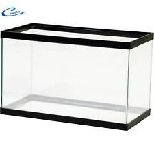 Empty Aquarium 10 Gallon Clear Fish Tank Aqua Culture Glass Terrarium
