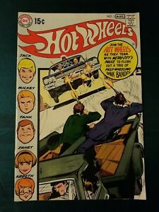 HOT WHEELS #3 VF, Neal Adams cover, Alex Toth art, DC Comics 1970