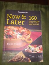 Weight Watchers Book NOW & LATER diet healthy cooking recipes weight loss Points