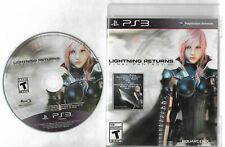 LIGHTNING RETURNS Final Fantasy XIII disc and case PlayStation 3 PS3