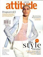 Attitude Gay Magazine Colton Haynes 25th Anniversary Issue Ben Hunte Hamed Sinno