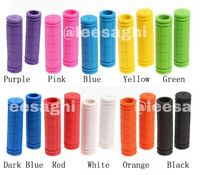 Soft Bike Handle bar Grips Hand-Grip MTB BMX Cycle-Road Mountain Bicycle-Scooter
