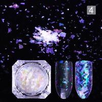 BORN PRETTY Chameleon Cloud Nails Glitter Sequins Flakes Paillette Powder Dust