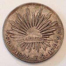 ~1875 Go FR Mexico Silver 8 Reales