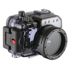 60M/195FT Waterproof Underwater Housing Case For Sony RX100 I II III IV V Camera